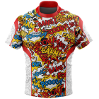 Comic Rugby Tour Shirts