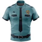 Police Rugby Tour Shirts